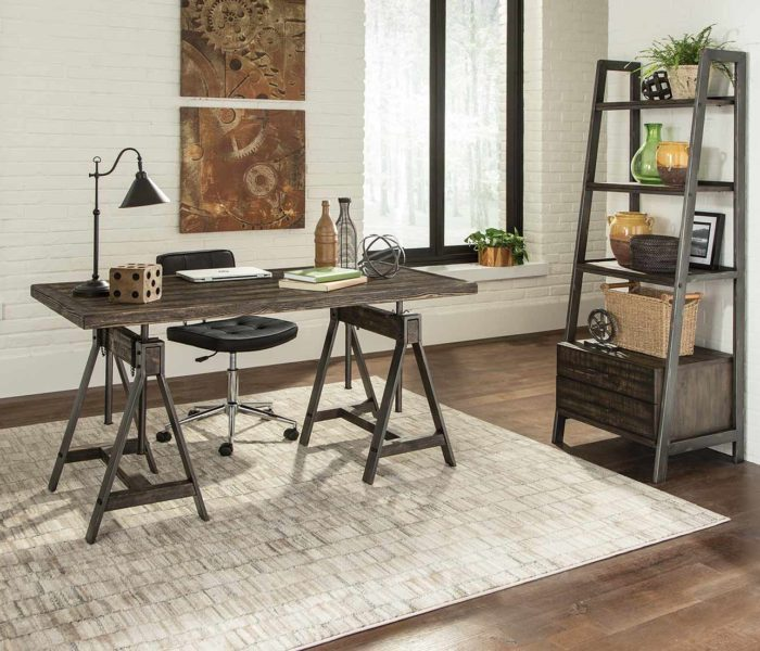 Your New Rustic Workspace