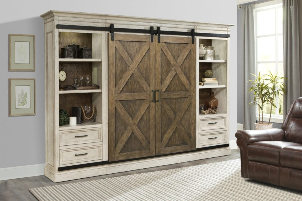 Sliding Door Entertainment Center Home Decorating Tips